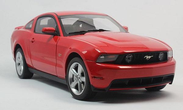 โมเดลรถ โมเดลรถเหล็ก โมเดลรถยนต์ Ford GT 2010 red 1