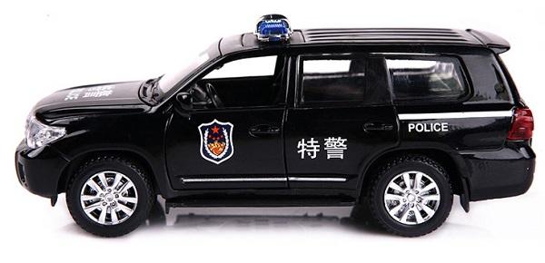 โมเดลรถเหล็ก โมเดลรถยนต์ toyota police 3