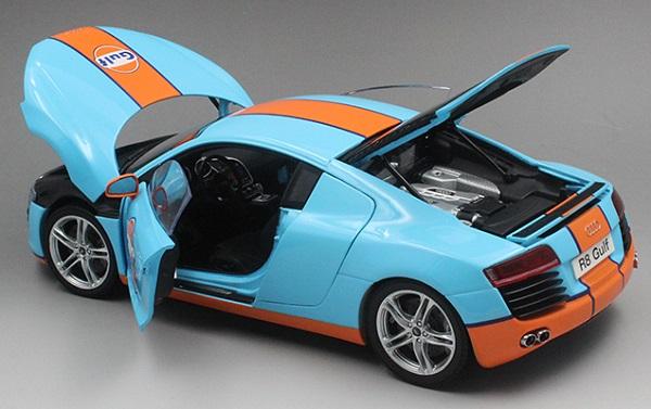 โมเดลรถ โมเดลรถเหล็ก โมเดลรถยนต์ Audi R8 Sports 5
