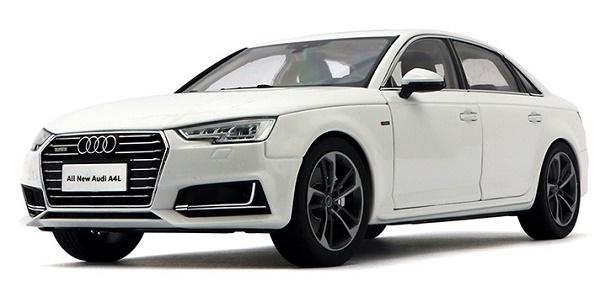 โมเดลรถ โมเดลรถเหล็ก โมเดลรถยนต์ Audi A4L white 1
