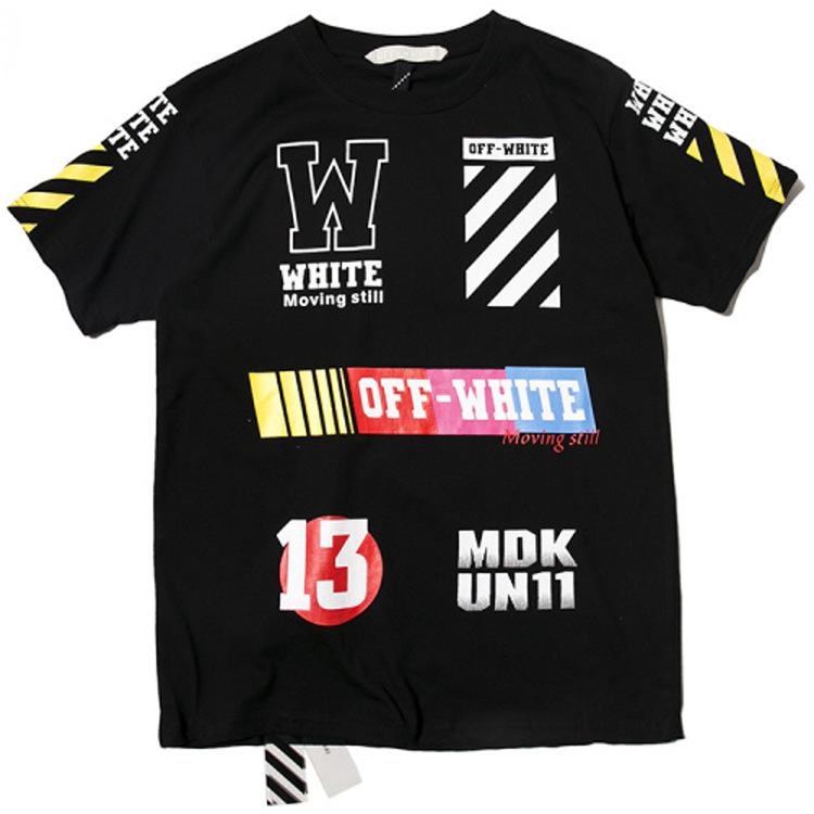 เสื้อยืด Off-white / Pyrex Kanye West Off-White 13 still MDK un11 (1)