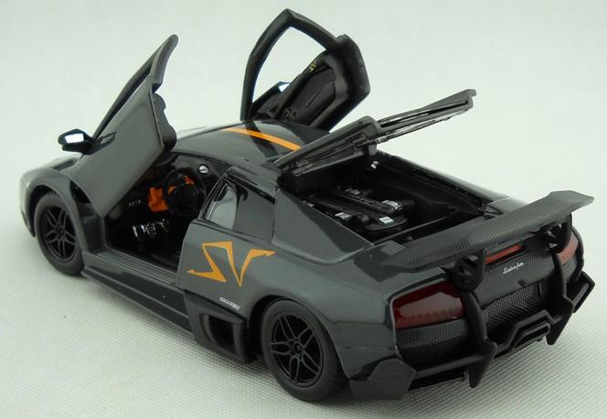 โมเดลรถ โมเดลรถยนต์ โมเดลรถเหล็ก Lamborghini Murcielago Chinese Limited 5