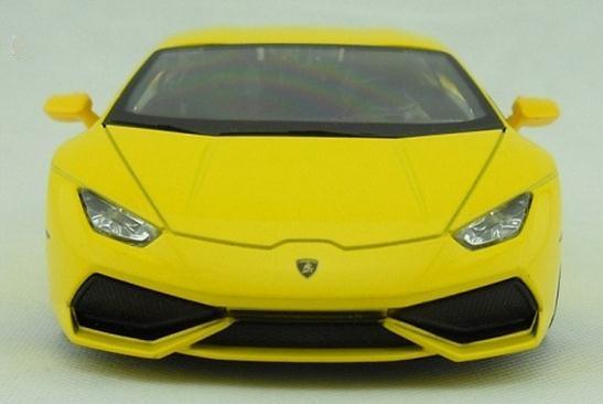 โมเดลรถ โมเดลรถยนต์ รถเหล็ก Lamborghini huracan LP610-4 4