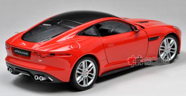 โมเดลรถยนต์ โมเดลรถเหล็ก Jaguar F-Type red 4