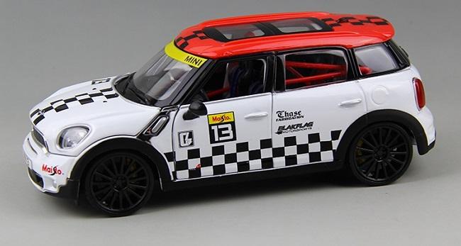 โมเดลรถ โมเดลรถเหล็ก โมเดลรถยนต์ BMW mini country No 13 5