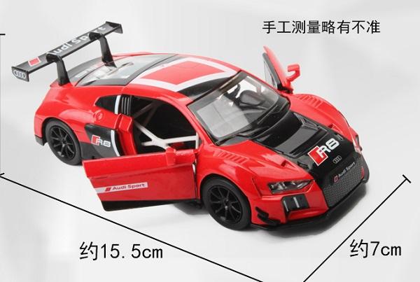 โมเดลรถเหล็ก โมเดลรถยนต์ Audi R8 LMS 4