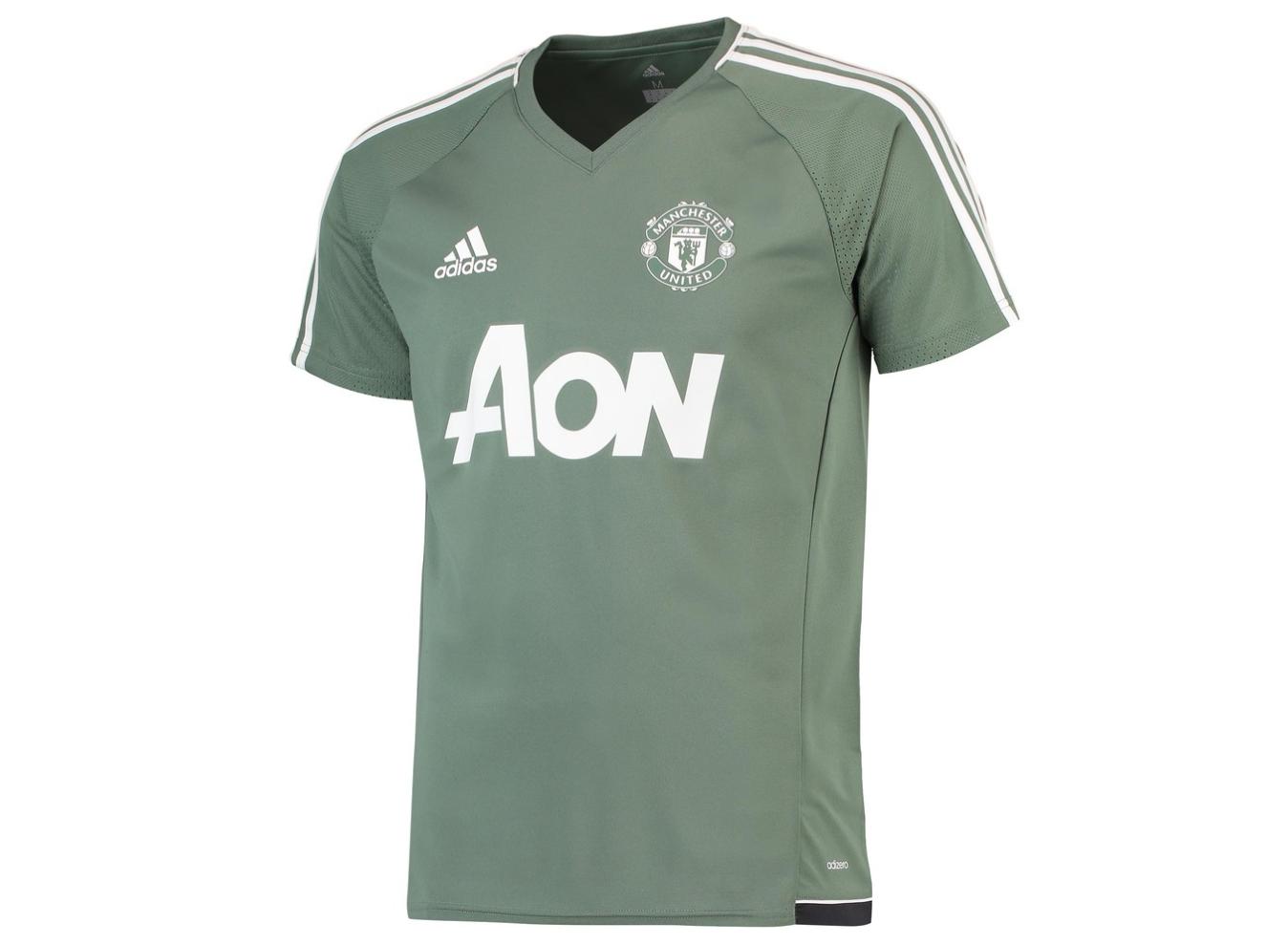 เสื้ออดิดาสแมนเชสเตอร์ ยูไนเต็ด Training Jersey สีเขียวของแท้