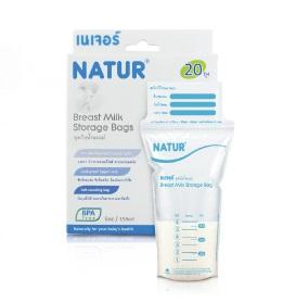 ถุงเก็บน้ำนม Natur รุ่น BPA Free แพค 20 ถุง