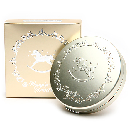 Beauty Credit Lovely Powder Pact Moist #21 ผิวขาวเหลือง