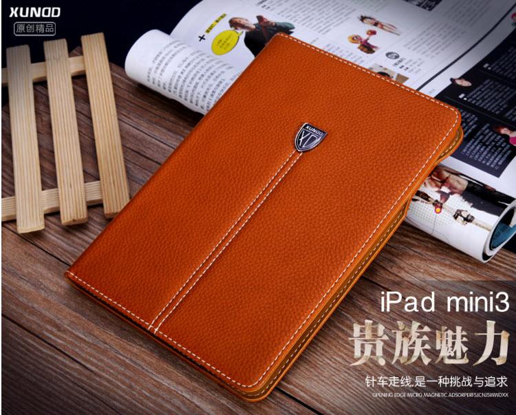 Luxury XUNDO Real Leather Case For iPad mini 1 2 3