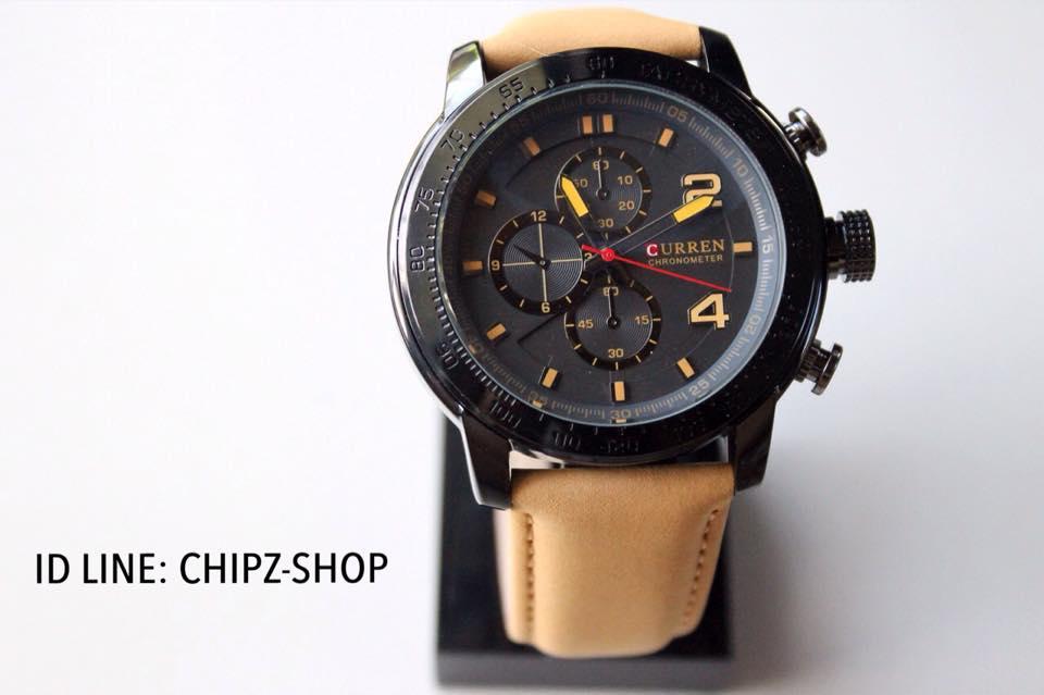 นาฬิกาข้อมือผู้ชาย แบรนด์ Curren รุ่น Chronometer