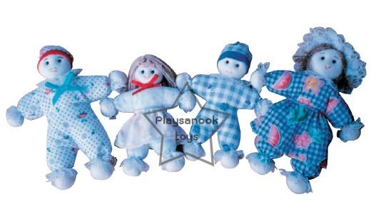 SKK-01 ตุ๊กตา พ่อ แม่ ลูก