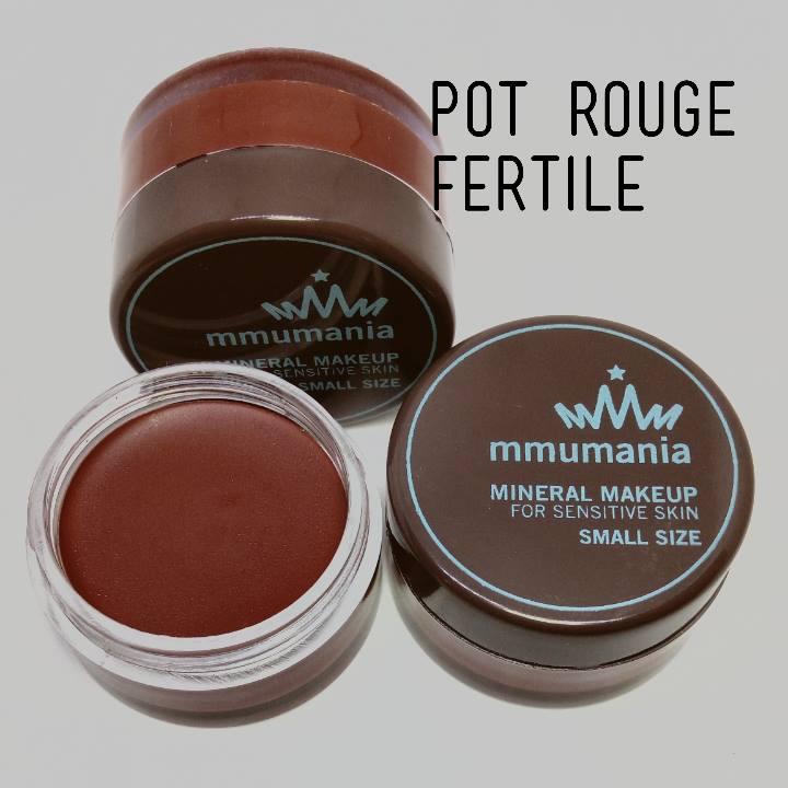 MMUMANIA Pot Rouge : สี Fertile ลิปสติกเนื้อแมท สีน้ำตาลอมส้มเจือแดง