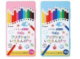 [พร้อมส่ง กล่องชมพู กล่องฟ้า] Colorpen ใหม่! ดินสอสี / สีไม้ ลบได้ นำเข้าจากญี่ปุ่น มี 12 สี เหมาะกับน้องๆมากค่ะ ห้างขาย 650- product icon