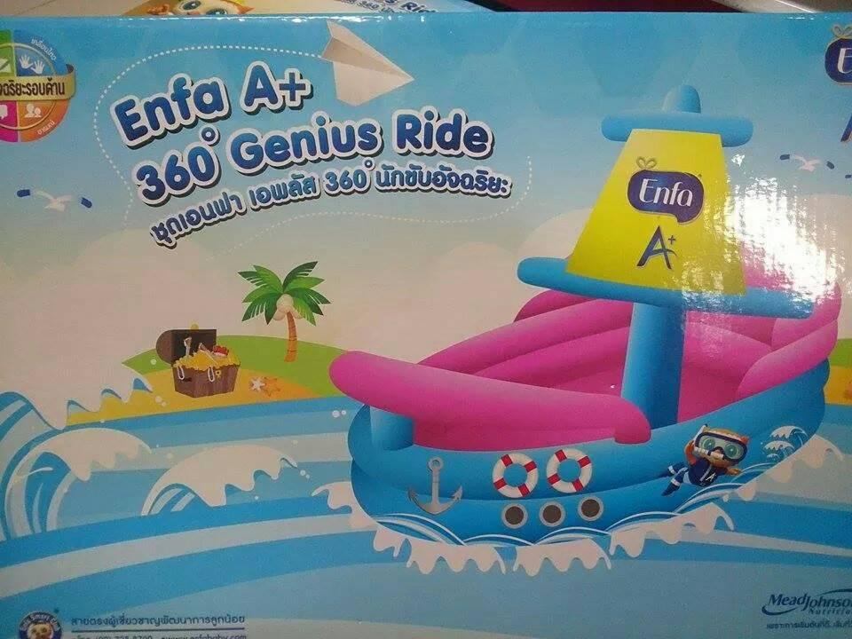 เอนฟา เอพลัส 360° นักขับอัจฉริยะ (เรือเอนฟาเป่าลม )