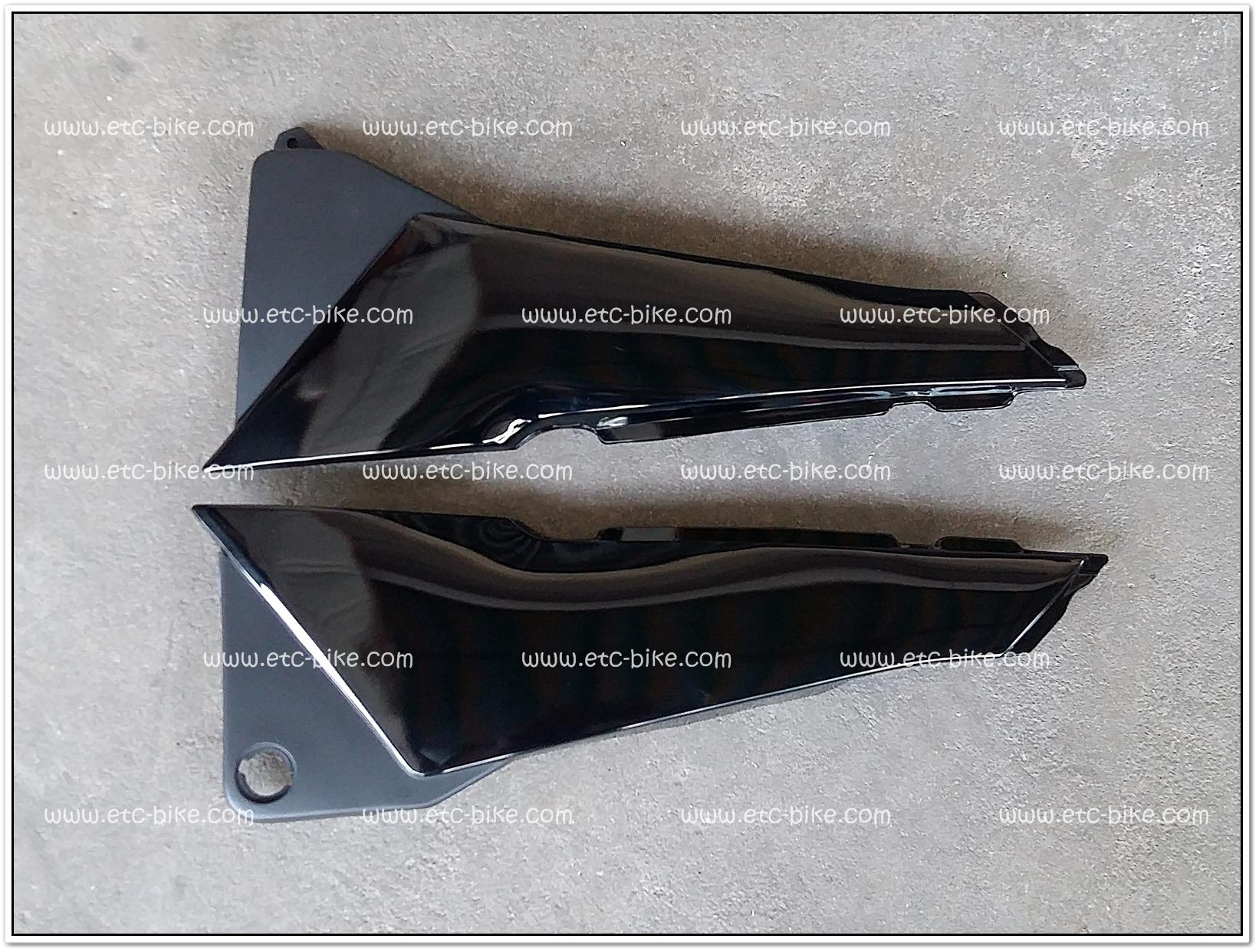 ฝากระเป๋า RXZ สีดำ
