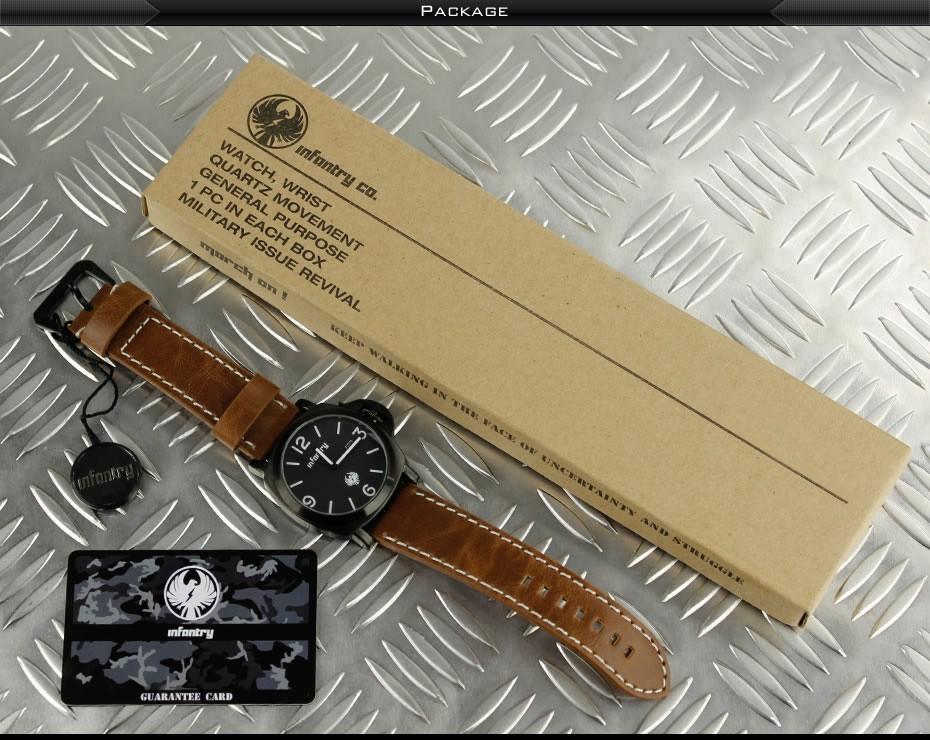 นาฬิกา infantry watch รุ่น IN-025-BLK-BL