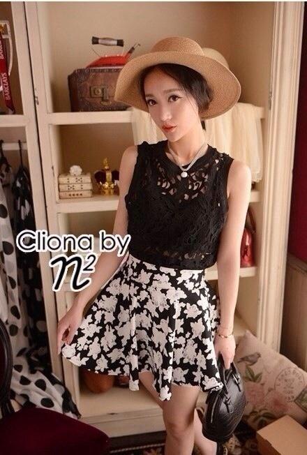 Cliona Made, Emma floral lace Set