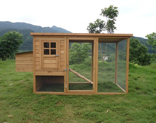 บ้านสัตว์เลี้ยง บ้านหมา บ้านแมว กระต่ายหนูไก่ นก อากาศถ่ายเทได้สะดวก มี 3 รุ่น สีไม้ธรรมชาติ