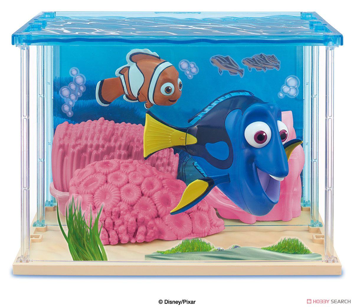 Chara Craft Dory & Nemo และฉากตู้ปลา
