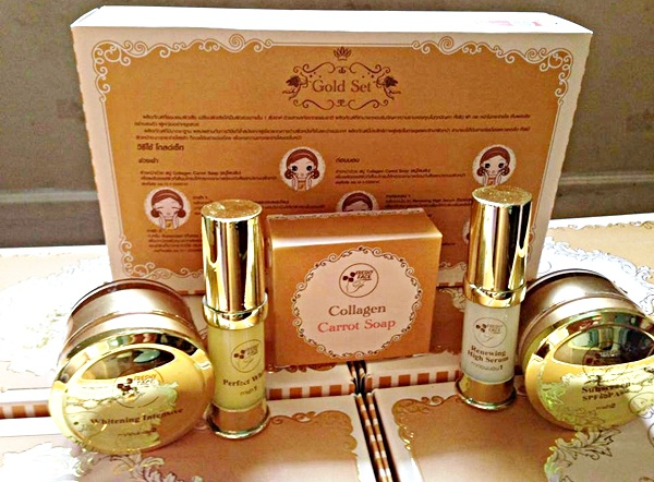 Freshy Face Gold Set ครีมถุงทอง โกลด์เซ็ต หน้าใส