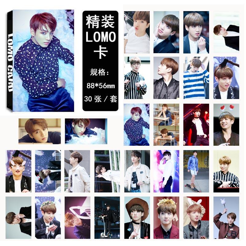 LOMO CARD BTS WINGS JUNGKOOK 03