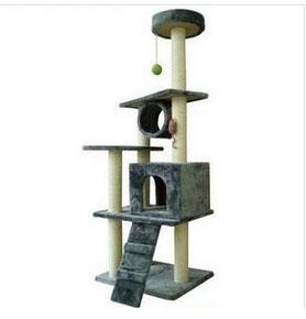 MU0096 คอนโดแมวห้าชั้น ต้นไม้แมวขนาดใหญ่ ของเล่นแขวน อุโมงค์บ้าน สูง 175 CM
