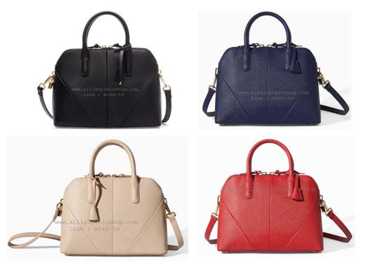 กระเป๋าแบรนด์ ZARA SAFFIANO LEATHER MINI-CITY BAG