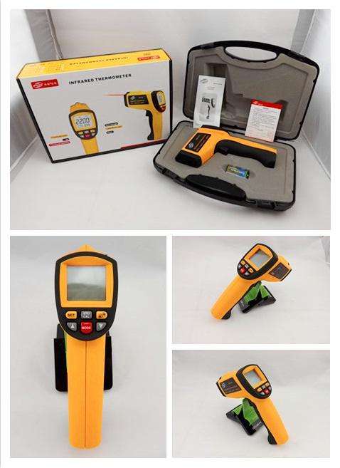 อินฟราเรดเทอร์โมมิเตอร์ (Infrared Thermometers ) รุ่น AR882+ ย่านการวัด -18~1650ºC