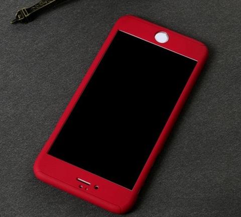 เคสประกบ 360 องศา สีแดง iPhone 6/6S
