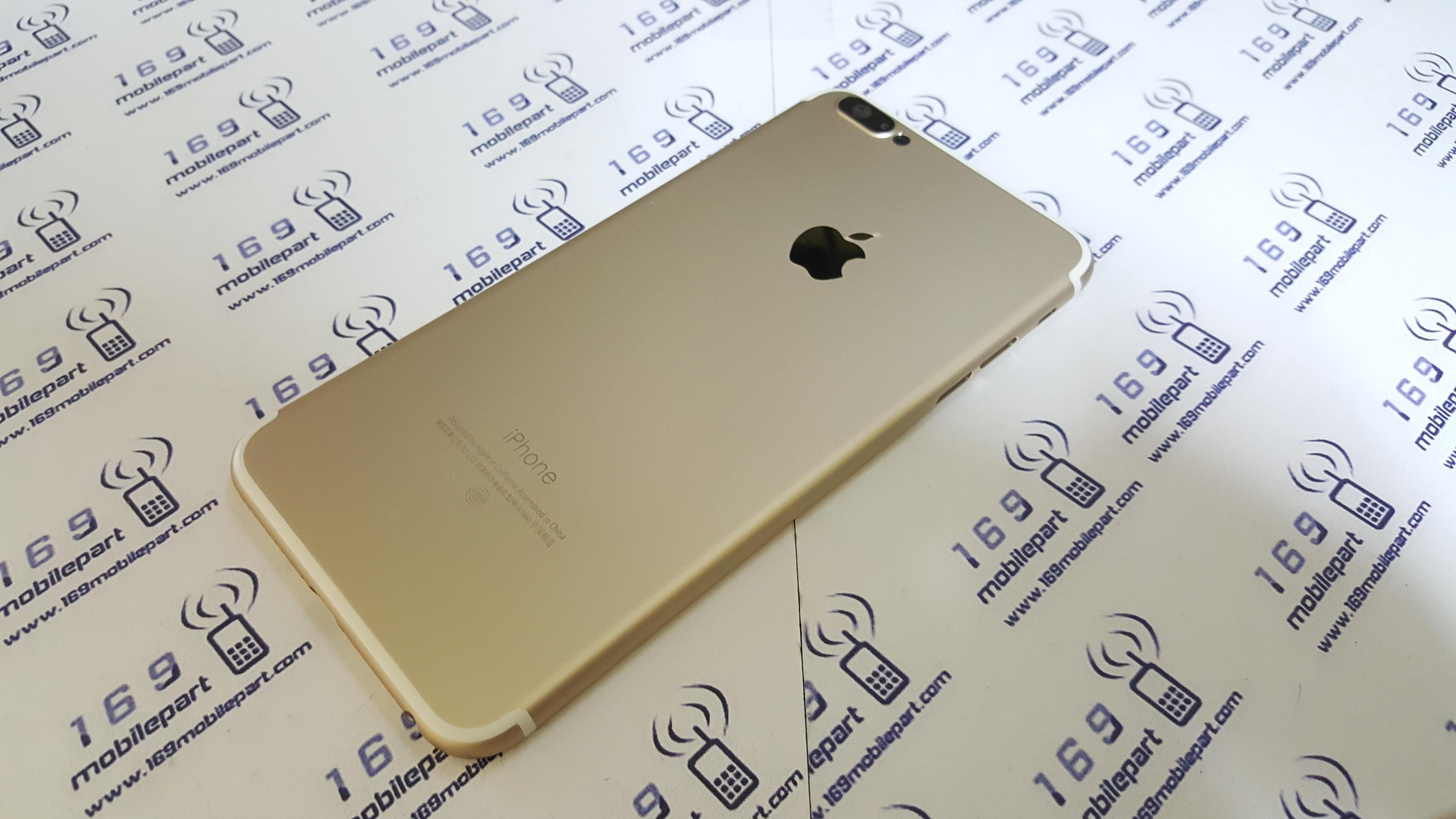 บอดี้ iPhone 6 Plus แปลง i7 Plus สีทอง