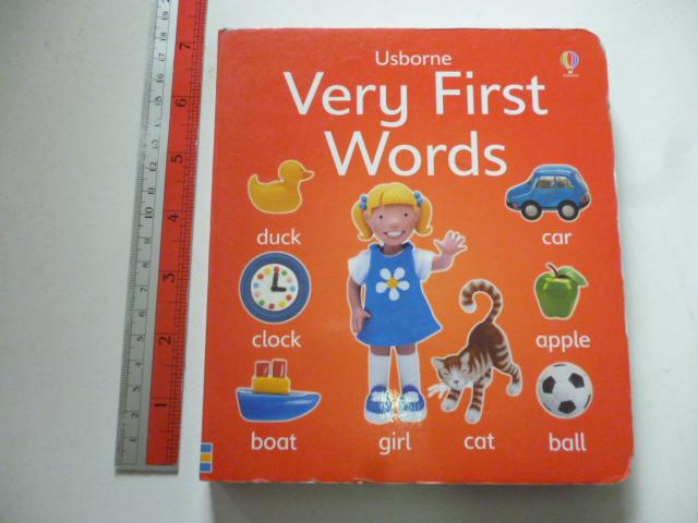 Usborne Very First Words (Board Book)