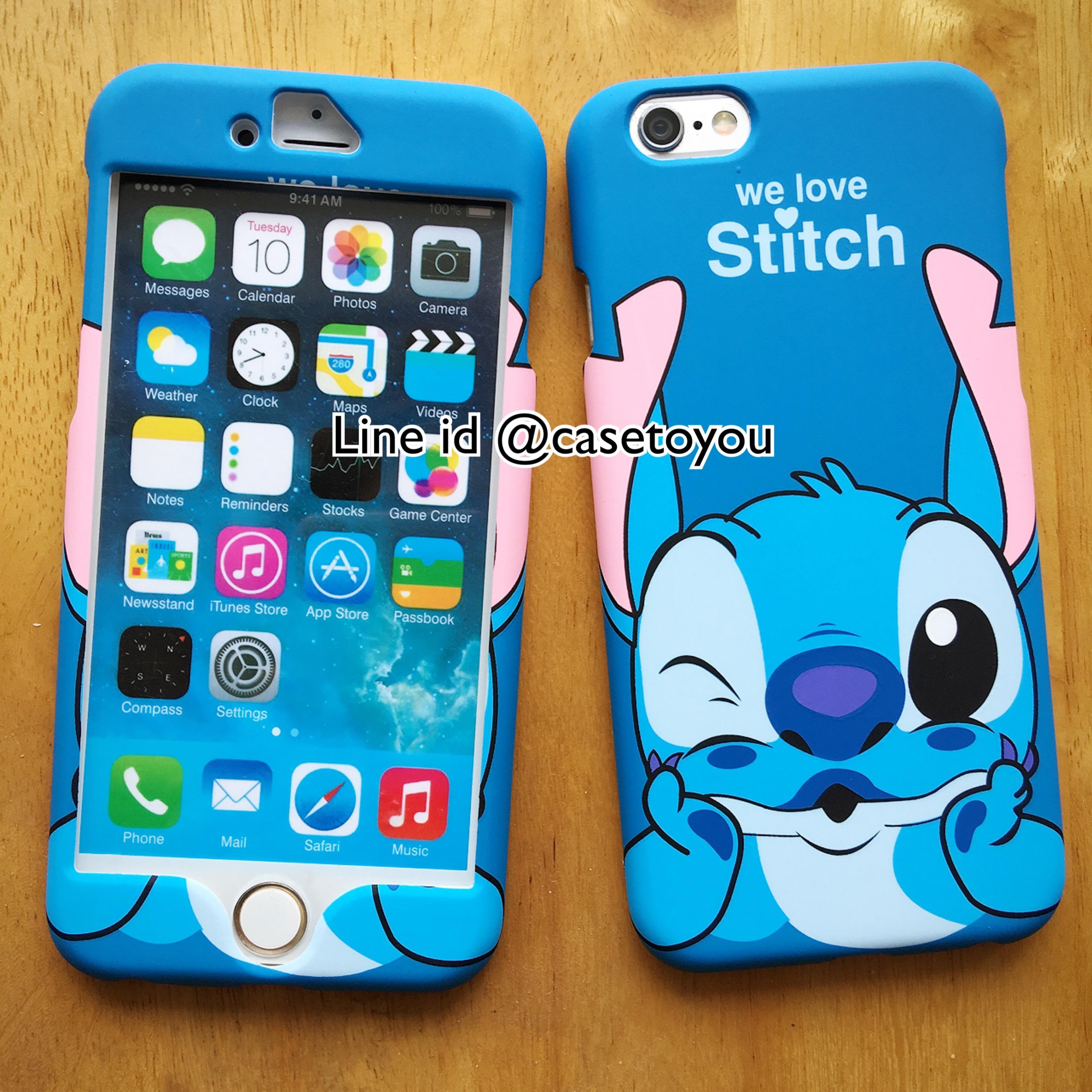 เคสประกบหน้า-หลัง Stitch New iPhone 6/6S