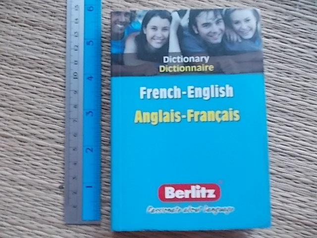 French-English/ Anglais-Francais Dictionary (Berlitz)