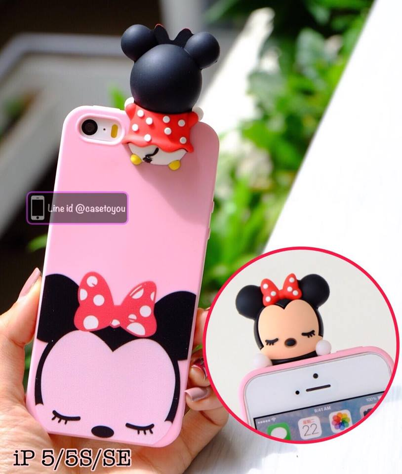 Minnie cartoon back cover iPhone 5/5S/SE