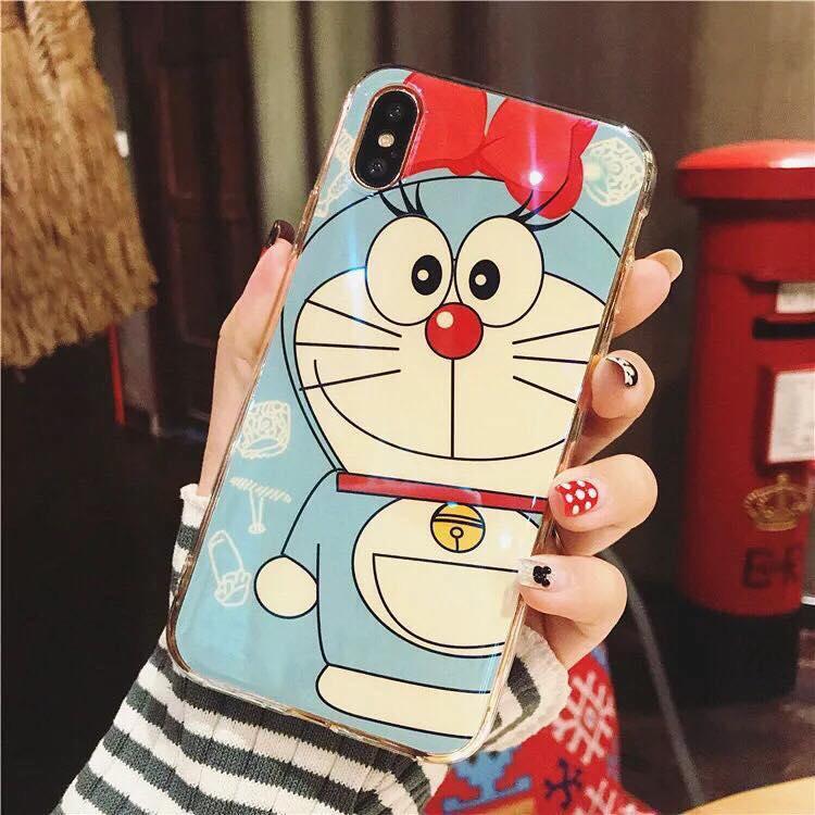 เคสผิวเงา มัน ลาย Doraemon iPhone 7/8