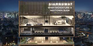 ด่วนขายดาวน์ Wish Signature II Midtown Siam 1 ห้องนอน 33.07 ตร.ม ๆ ละ 179,000 บาท