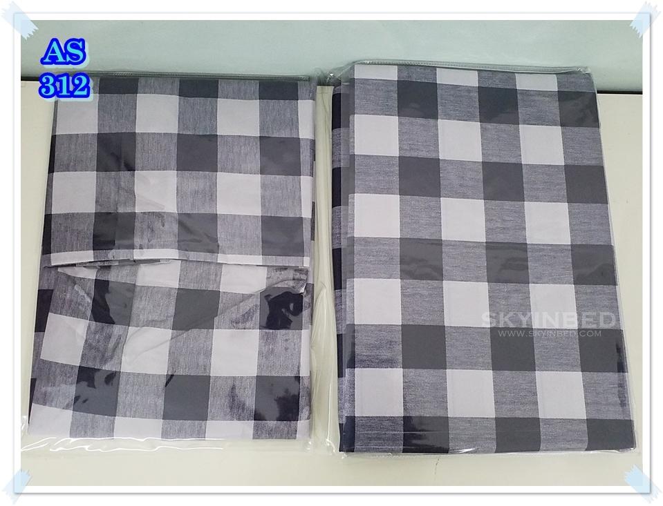 ผ้าปูที่นอนสไตล์โมเดิร์น เกรด A ขนาด 3.5 ฟุต(3 ชิ้น)[AS-312]