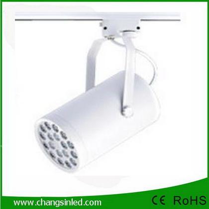 โคมไฟ LED Track Light 18W เป็นชุดโคมไฟใช้กับรางไฟ โคมสีขาว