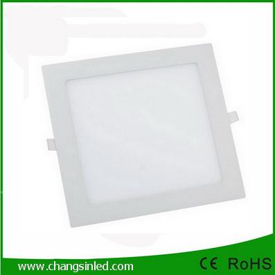 หลอดไฟแบบฝังฝ้าเพดาน LED Slim Panel 9W แบบเหลี่ยม