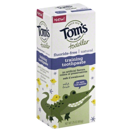 Tom's of Maine Toddler Training Toothpaste