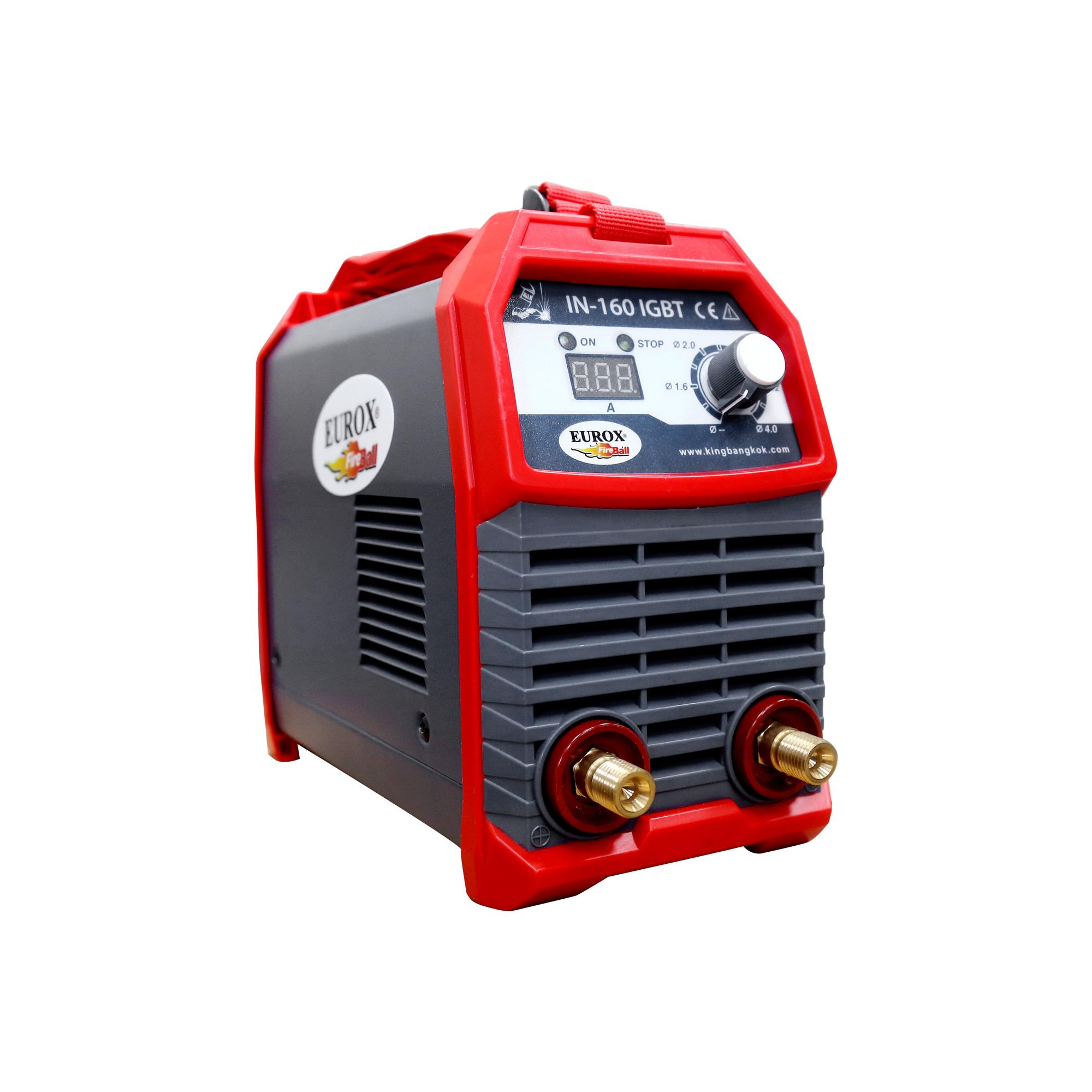 เครื่องเชื่อมระบบ IGBT กระแสไฟ 160A EUROX DIGI IN160