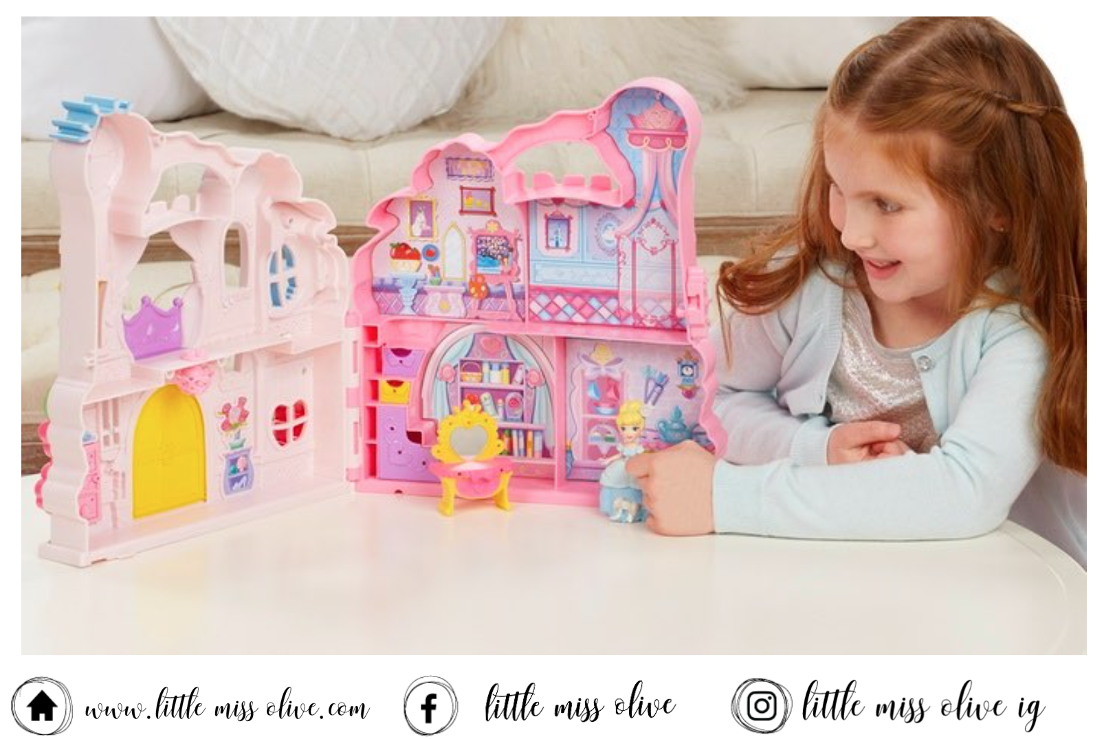 Disney Little Kingdom Play N' Carry Castle