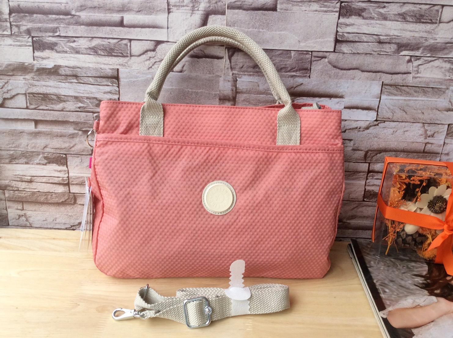 กระเป๋า KIPLING K15311-34C Caralisa OUTLET HK สีชมพูโอรส