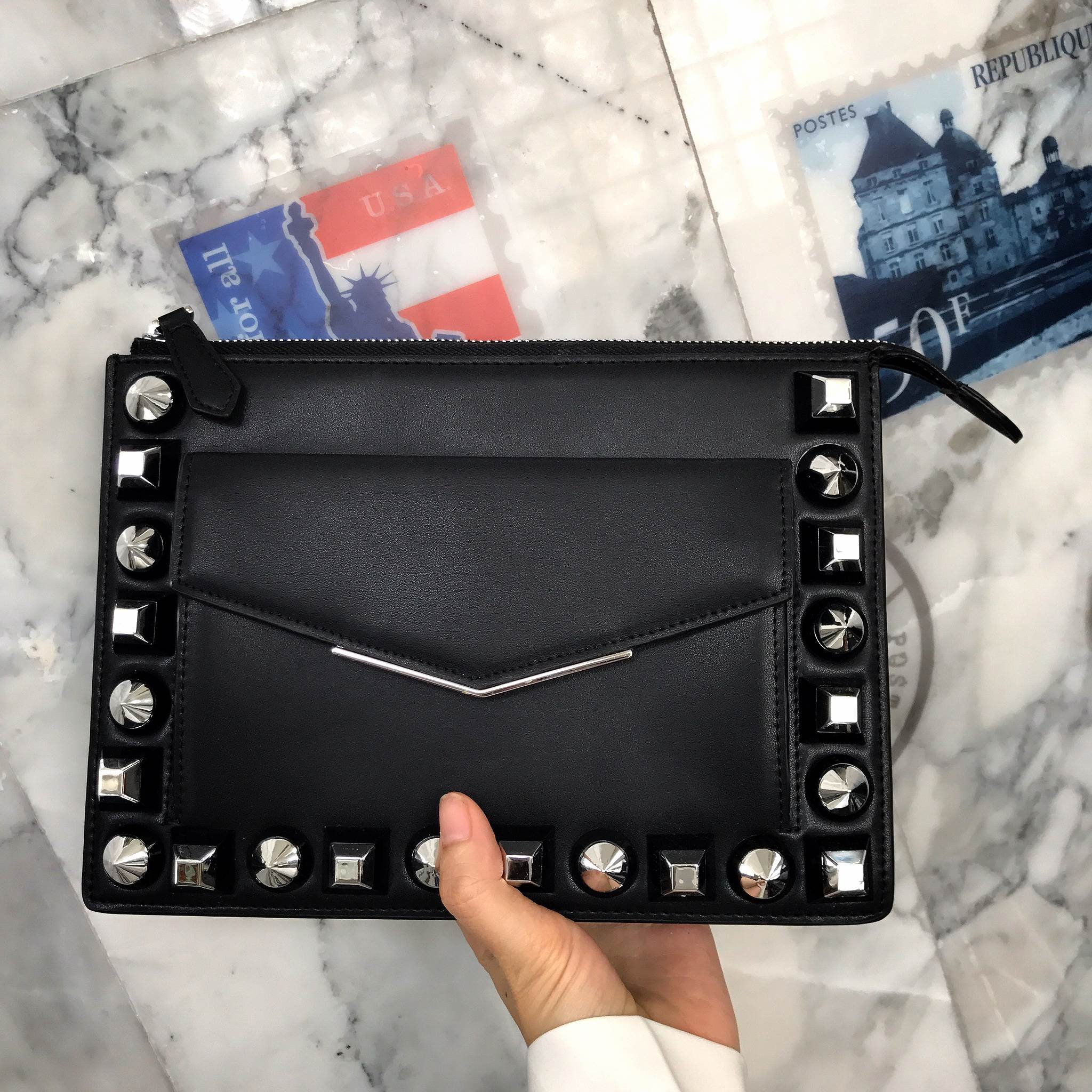 KEEP Pinty Clutch bag with strap 2017