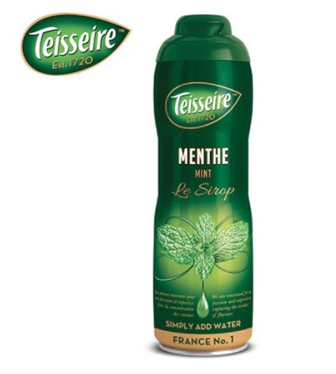 Teisseire Green Mint : น้ำหวานเข้มข้นเตสแชร์ รสกรีนมินท์