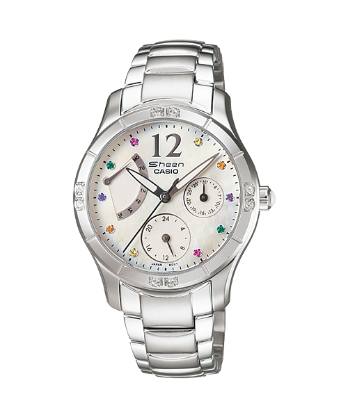 นาฬิกาข้อมือ CASIO SHEEN MULTI-HAND รุ่น SHN-3016DP-7A