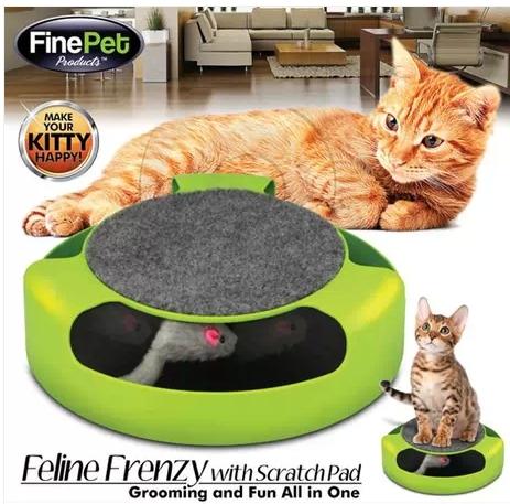แมวจับหนู Feline Frenzy Cat Toy