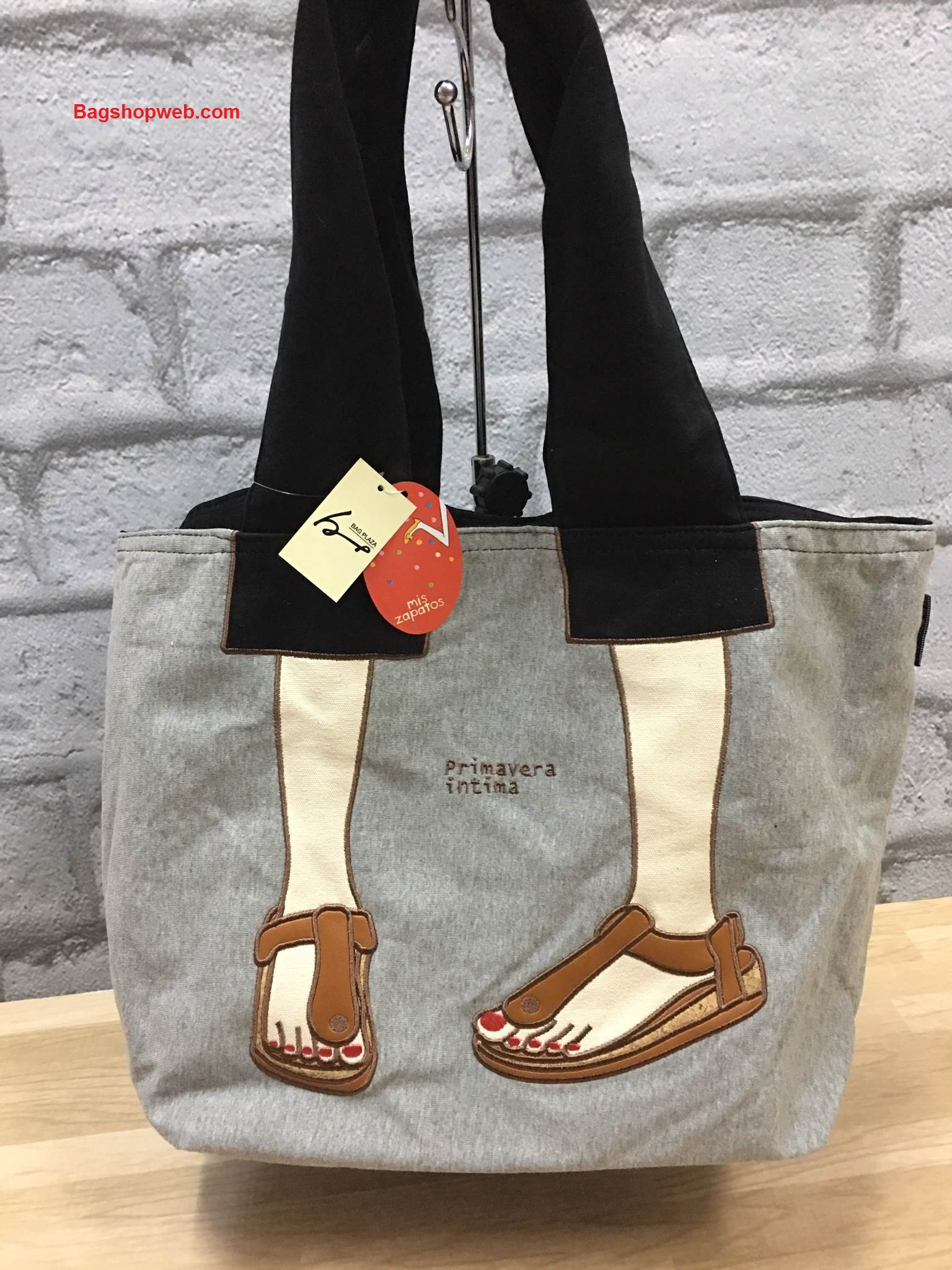 กระเป๋า Mis Zapatos turnovers sweet material shopping bag C ราคา 1,090 บาท Free Ems
