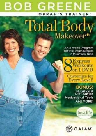 Bob Greene Total Body – Makeover 8 VEDIO in 1 DVD